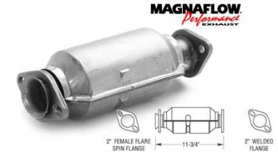 MagnaFlow - MagnaFlow Direct Fit Catalytic Converter - 23686