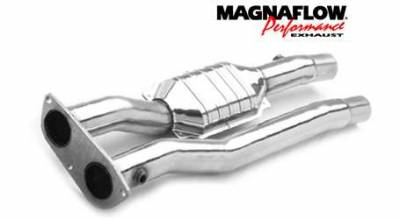 MagnaFlow - MagnaFlow Direct Fit Rear Catalytic Converter - 43471