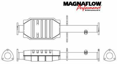 MagnaFlow - MagnaFlow Direct Fit Catalytic Converter - 43484