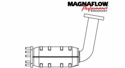 MagnaFlow - MagnaFlow Direct Fit Front Catalytic Converter - 50860