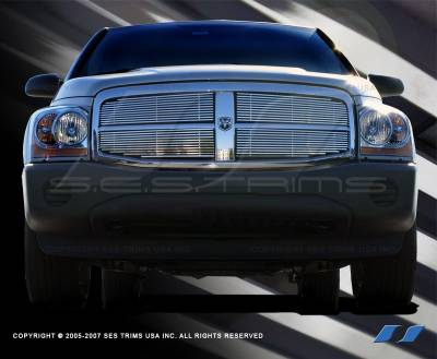 SES Trim - Dodge Durango SES Trim Billet Grille - 304 Chrome Plated Stainless Steel - CG130