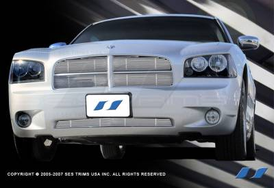 SES Trim - Dodge Charger SES Trim Billet Grille - 304 Chrome Plated Stainless Steel - CG135