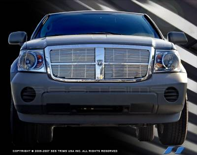 SES Trim - Dodge Durango SES Trim Billet Grille - 304 Chrome Plated Stainless Steel - CG154