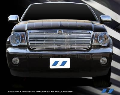 SES Trim - Chrysler Aspen SES Trim Billet Grille - 304 Chrome Plated Stainless Steel - CG155