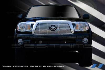 SES Trim - Toyota Tacoma SES Trim Billet Grille - 304 Chrome Plated Stainless Steel - CG175