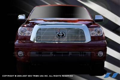 SES Trim - Toyota Tundra SES Trim Billet Grille - 304 Chrome Plated Stainless Steel - CG177