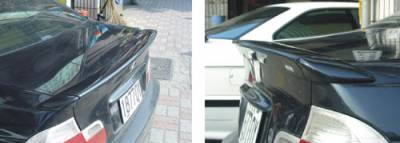 Emotion - 3-Series AC Style 3-Piece Trunk Spoiler