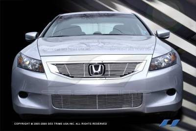 SES Trim - Honda Accord SES Trim Billet Grille - 304 Chrome Plated Stainless Steel - Bottom - CG189BV4