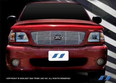 SES Trim - Ford Expedition SES Trim Billet Grille - 304 Chrome Plated Stainless Steel - CG203