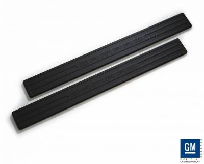 Defenderworx - Chevrolet Camaro Defenderworx Door Sills - Black - CB1013