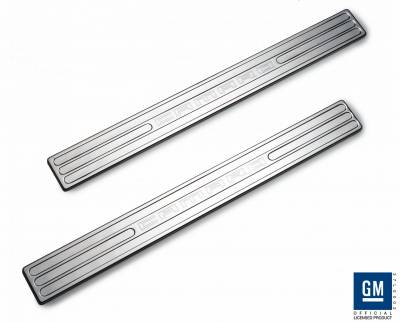 Defenderworx - Chevrolet Camaro Defenderworx Door Sills - Chrome - CC1013