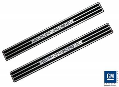 Defenderworx - Chevrolet Camaro Defenderworx Door Sills - Two-Tone - CT1013