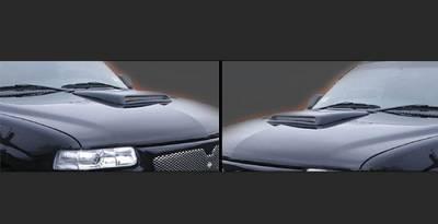Sarona - Chevrolet Silverado Sarona Hood Scoop - CH-002-HS