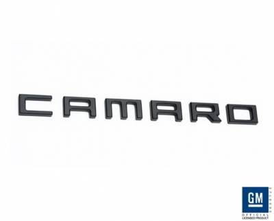 Defenderworx - Chevrolet Camaro Defenderworx Camaro Letters - Black - CB1015