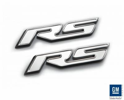 Defenderworx - Chevrolet Camaro Defenderworx RS Badge - Chrome - CC1003