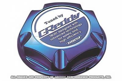 Greddy - Nissan Greddy Blue Oil Filler Cap - Type 1 - 13921011