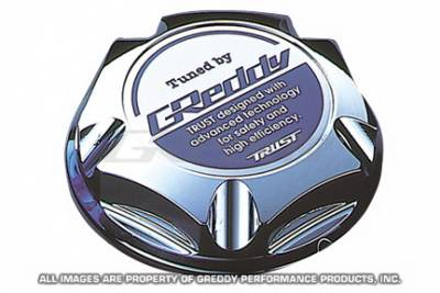 Greddy - Nissan Greddy Chrome Oil Filler Cap - Type 1 - 13921021