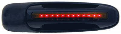 In Pro Carwear - Dodge Ram IPCW LED Door Handle - Front - Black - Right Side without Key Hole - 1 Pair - DLR02B04F1
