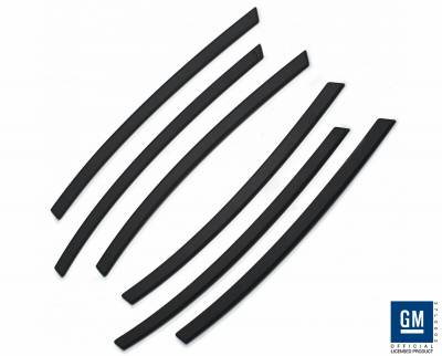 Defenderworx - Chevrolet Camaro Defenderworx Side Vents - Black - CB1008