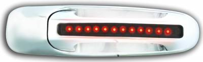 In Pro Carwear - Dodge Ram IPCW LED Door Handle - Rear - Chrome without Key Hole - 1 Pair - DLR02S04R