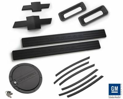 Defenderworx - Chevrolet Camaro Defenderworx Exterior Accessory Kit - Black - CB20LT