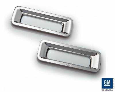 Defenderworx - Chevrolet Camaro Defenderworx Reverse Light Trim - Chrome - CC1012