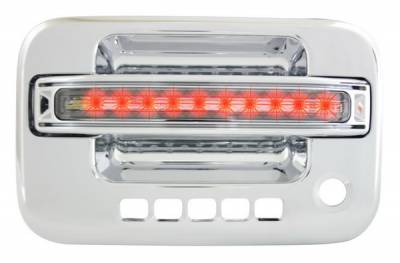 In Pro Carwear - Ford F150 IPCW LED Door Handle - Front - Chrome - Right Side without Key Hole - 1 Pair - FLR04CF1