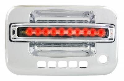 In Pro Carwear - Ford F250 IPCW LED Door Handle - Front - Chrome - Right Side without Key Hole - 1 Pair - FLR04SF1