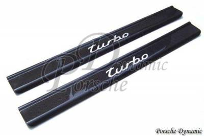 PorscheDynamic - Porsche 996 Turbo Carbon Fiber Door Sills