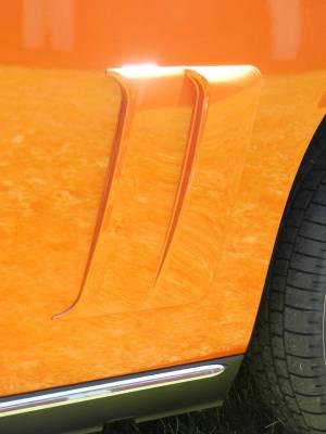 Retro USA - Dodge Challenger Retro USA Quarter Scoops - CH1QS-A