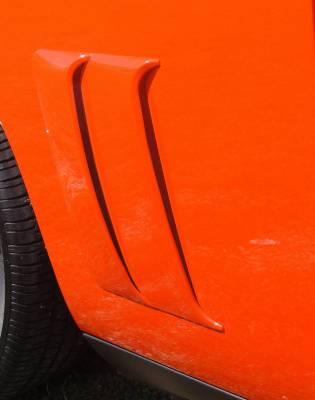 Retro USA - Dodge Challenger Retro USA Quarter Scoops - Pre-Painted - CH1QS-A-SP