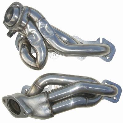 Pypes - Ford Mustang Pypes Polished 304 Stainless Steel Shorty Headers - 20032