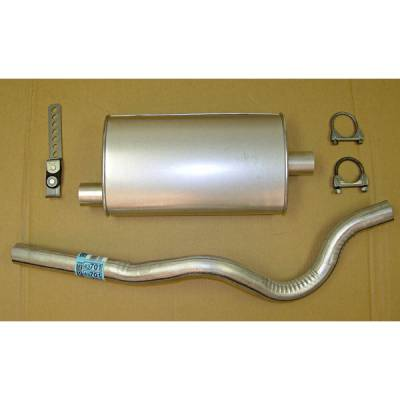 Omix - Omix Cat-Back Exhaust Kit - 17606-04