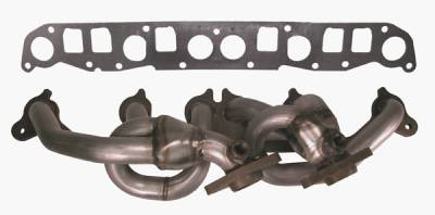 Omix - Rugged Ridge Header - 409 Stainless Steel - 17650-02