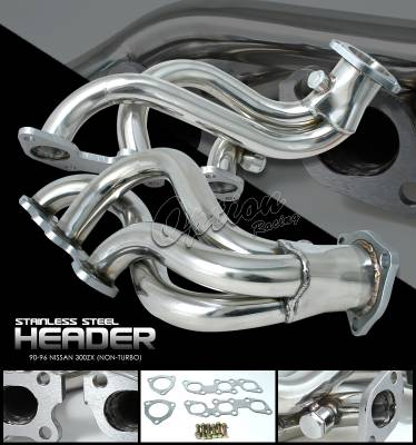 OptionRacing - Nissan 300Z Option Racing Racing Exhaust Header - 43-36142