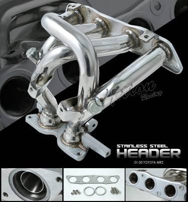 OptionRacing - Toyota MR2 Option Racing Racing Exhaust Header - 43-44141