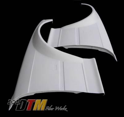 DTM Fiberwerkz - BMW 3 Series DTM Fiberwerkz GTR-S Style Front Wide Body Fenders - E36GTR-SFend
