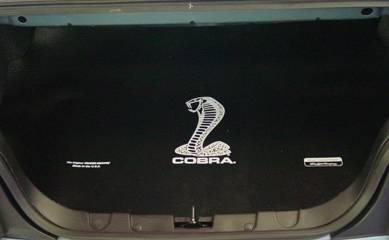 Fender Gripper - Ford Mustang Fender Gripper Trunk Mat with Cobra