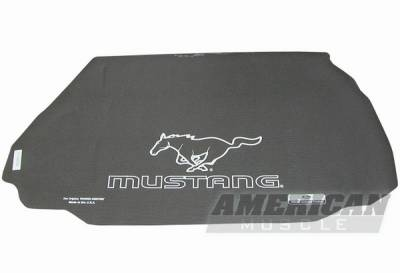 Fender Gripper - Ford Mustang Fender Gripper Trunk Mat with Running Pony
