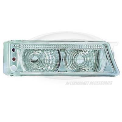 I-Tech - I-Tech Diamond Back Corner Lense - Black with 2 Extra Amber LEDs - 10CL2003FBEJM