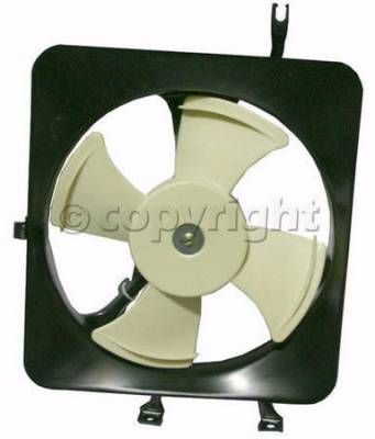 OEM - AC Condenser Fan Shroud Assembly