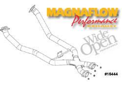 MagnaFlow - MagnaFlow Transition Tru-X Crossover Pipe - 15444