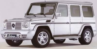Lorinser - Mercedes-Benz G Class Lorinser Sport Cat-Back Exhaust - Left - 490 2600 10
