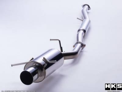 HKS - Mazda RX-7 HKS Silent Hi-Power Exhaust System - 31019-AZ001