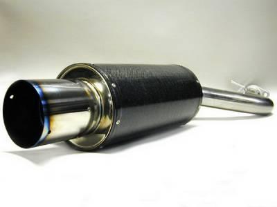 HKS - Eagle Talon HKS Carbon-Ti Exhaust System - 3112-EX002