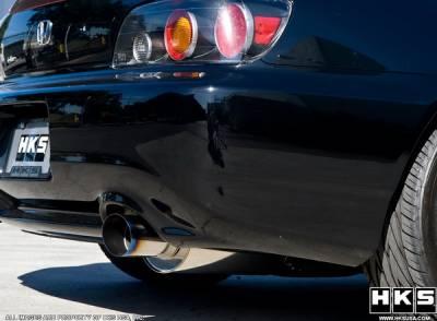 HKS - Honda Civic 2DR & 4DR HKS Hi-Power Exhaust System - 3203-EX010