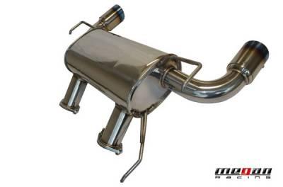 Megan Racing - Infiniti G37 Megan Racing Axle-Back Exhaust System - MR-ABE-IG372D