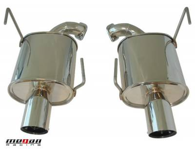 Megan Racing - Subaru WRX Megan Racing Axle-Back Exhaust System - MR-ABE-SI084D25