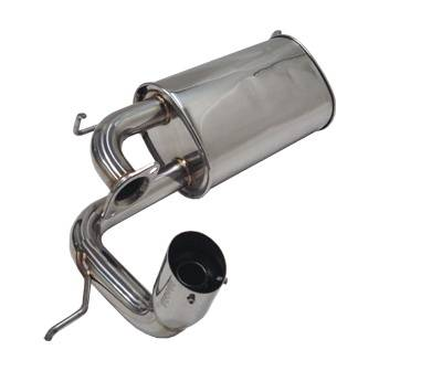 Megan Racing - Toyota MR2 Megan Racing Axle-Back Exhaust System - MR-ABE-TMS01