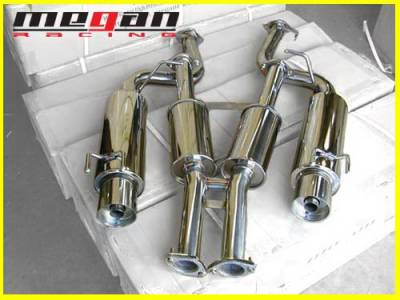 Megan Racing - Nissan 300Z Megan Racing NA Series Cat-Back Exhaust System - MR-CBS-N300